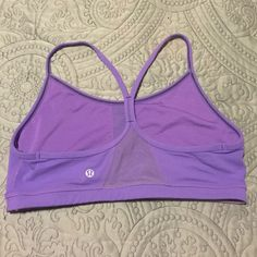 ✨ Lululemon Y sports bra ✨ Lululemon Y sports bra!!! Only worn a few times....in almost new shape...size 10 trades lululemon athletica Tops