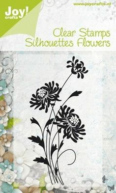 Joy!Crafts Clear Stamp Flowers Stempel Margerite