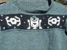 knitted star wars sweater