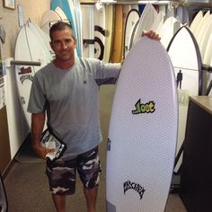 "Thank you Randy @ebright808 for stopping by! Enjoy your new @libtechsurf @lostsurfboards 5'5"" Puddle Jumper! #mahalo #hawaiiansouthshore #yoursurfboutique #surfboard #puddlejumper"