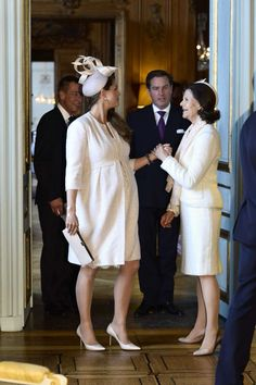 Princess Madeleine with her mom., Queen Silvia