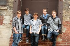 Eagle Trace, my Godson and his 3 brothers/my nephews and good friend's cool alternative rock band that plays at Summerfest in Milwaukee/Chicago cuz they are SO good! Looking edgy, men...