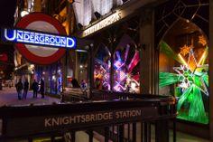 """Escaparates de Navidad 2013 (III): Londres, un """"estallido"""" de luces y emociones #holidaydisplay #escaparates #Navidad #Christmas #London #HarveyNichols"""