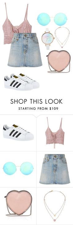 """Untitled #63"" by itsfatimamedina on Polyvore featuring adidas, Jens Pirate Booty, Victoria Beckham, R13, STELLA McCARTNEY and Michael Kors"