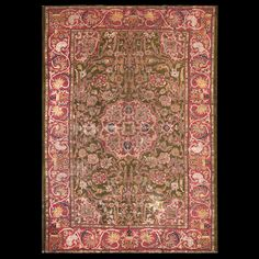 Sultanabad Rug - 22779 | Persian Formal Origin Persia, Circa: 1890 #antiquerug #rahmanan #persianeug #antiquerugstudio #nyc