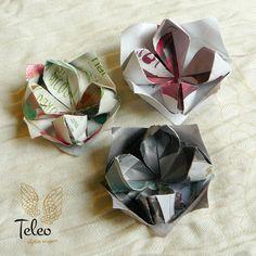 Lotos en papel reciclado