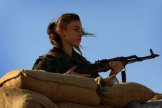 kurdish female fighter | YPG | YPJ | Kurdistan