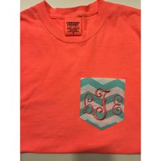 Monogrammed Comfort Colors Short Sleeve Crew Neck With Pocket ($20) ❤ liked on Polyvore featuring tops, t-shirts, black, women's clothing, checkered shirt, monogrammed pocket t shirts, monogram t shirts, black crew neck t shirt and crewneck t-shirt