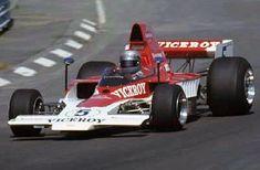 Mario driving the Lola T332 Formula 5000 car
