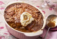 Take a piece of pudding and watch as the syrupy butterscotch filling oozes out...