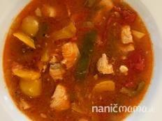 Vianočná rybacia polievka - recept Thai Red Curry, Ethnic Recipes, Food, Eten, Meals, Diet