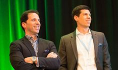 Social CEO, Chris Dessi and CMO, John Zanzarella listening to lively presentation by Vaynerchuk Gary Vaynerchuk, Homeschool High School, Career Success, Business Networking, Day Work, Best Relationship, Keynote, Tv, Digital