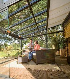 Pergola Ideas For Small Backyards Key: 4275140793 Roof Balcony, Glass Balcony, Pergola With Roof, Glass Roof, Pergola Shade, Patio Roof, Pergola Patio, Pergola Plans, Pergola Kits