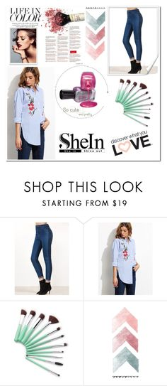 """""""Shein 50"""" by zerina913 ❤ liked on Polyvore featuring shein"""