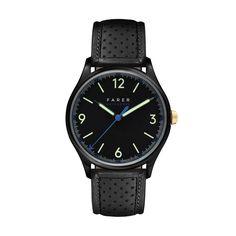 Farer Watch - Mallory - Black Matte Dial - 39.5mm Case