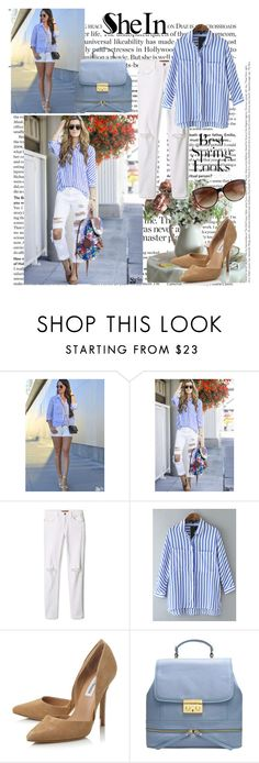 """""""Sheinside X-2"""" by zijadaahmetovic ❤ liked on Polyvore featuring Rebecca Minkoff, Steve Madden, H&M and Sheinside"""
