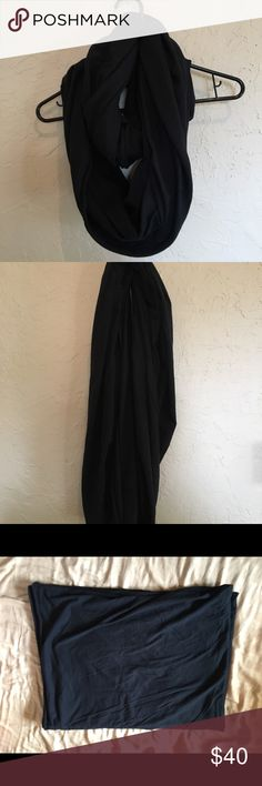 American apparel circle scarf black American apparel circle scarf black. Infinity scarf. Really just a huge sheet of cozy cotton you can wrap as a scarf and a hoodie. American Apparel Accessories Scarves & Wraps