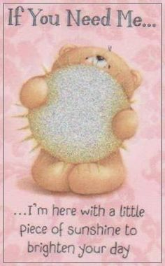 Good Day Quotes: Forever Friends Online Mobile Store - Quotes Sayings Good Day Quotes, Good Morning Quotes, Cute Quotes, Vie Positive, Good Morning Good Night, Good Morning My Friend, Tatty Teddy, Morning Greeting, Cute Bears