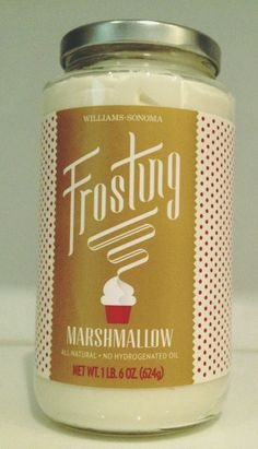 Marshmallow Frost by William Sonoma