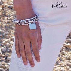 www.parklanejewelry.com/rep/beckieajayi #silverchainbracelet #locketbracelet  #parklanejewelry
