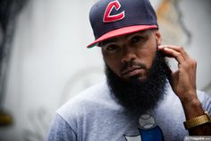 Beard and Fitted.. Sexy Combo (Philly rapper Stalley)