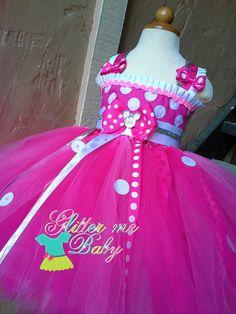 minnie mouse party Minnie Mouse Tutu Dress Princess Minnie inspired by GlitterMeBaby, $60.00