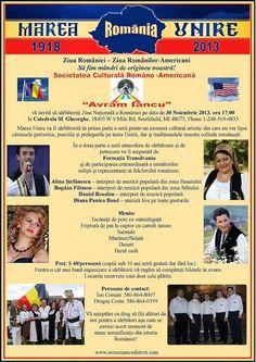 Ziua Națională a României, 2013. Avram Iancu U.S.A -Detroit,  LA CATEDRALA SF. GHEORGHE DIN SOUTHFIELD, Mi  http://www.pribeag.com/9-evenimente/394-ziua-nationala-a-romaniei-avra http://www.avramiancudetroit.com/