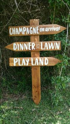 This item is unavailable Rustic Wedding Signs, Wedding Signage, Wedding Events, Our Wedding, Wedding Direction Signs, Wedding Directions, Wooden Arrows, Wooden Posts, Arrow Signs