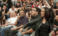 O ator Domingos Montagner participa de gravação do programa 'Altas Horas' em…