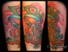 Candy Cane Art - Desperado Tattoo