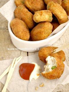 Nuggets di pollo con verdure
