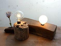 wood lightbulb