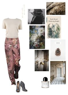 """""""Wuthering Heights"""" by ellasophialove ❤ liked on Polyvore featuring Chan Luu, Behnaz Sarafpour, Gianvito Rossi, Trianon and Byredo"""