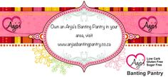 Are you seeking new opportunities? If you love banting and love quality food, feel free to read more on owning your own store on www.anjasbantingpantry.co.za