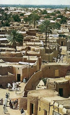 vintage middle east town