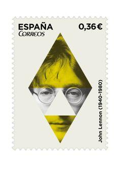 Col·lecció de segells / Icones del rock Treball d'estudiant Gal·la Pascual