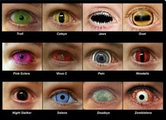 contact lenses D: these are way too cool! definitely perfect for Halloween (Psoas Release Tank Tops) contact lenses D: these are way too cool! definitely perfect for Halloween (Psoas Release Tank Tops) Cool Contacts, Colored Contacts, Eye Contacts, Halloween Contacts, Halloween Eyes, Halloween Cosplay, Sfx Makeup, Costume Makeup, Naruto Contact Lenses