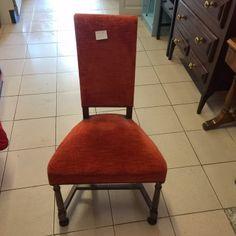 5-cadires-tapissada-vermella-52x43x96-preu-u 15 €