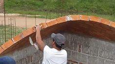 Impressively skilled brick layers, Vault contruction. - YouTube