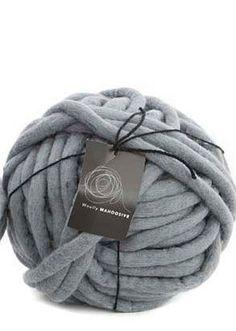 Chunky yarn. Giant Fully felted merino Yarn by Woollymahoosive