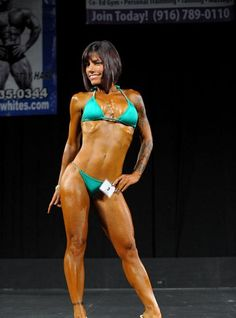 Syndee Serrano 2012 NPC California Govenor's Cup Bikini Over 45 Class Winner