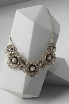 Hinted Phlox Necklace $245