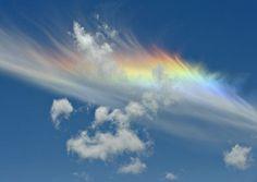 あなたは見たことありますか?七色に輝き、幸福を届ける雲「彩雲」