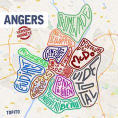 Top 8 des cartes de villes françaises version honnête, tout de suite c'est plus clair
