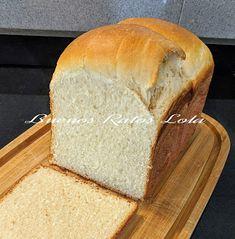 Pan de leche con Tang Zhong, (pan Hokkaido), en panificadora de Lidl - BUENOS RATOS LOLA Bread, Food, Homemade Jelly, Custard, Breads, Deserts, Dinner Rolls, Bread Machine Recipes, Kitchens