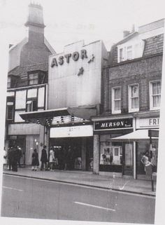 Astor cinema, Bromley - saw the Wizard of Oz here with my mum London History, Local History, South London, Old London, Historical Maps, Historical Pictures, South East England, Cinema Theatre, Forest Hill
