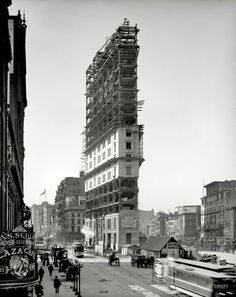 Constructing Times Square
