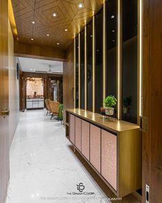 Main Entrance Door Design, Modern Entrance, House Entrance, Entrance Foyer, Foyer Design, Lobby Design, House Design, Bed Design, False Ceiling Design