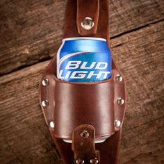 Make him laugh with delight when you give your man this Dark Brown Plano Beer Holster from Holestar and Bourbon & Boots.