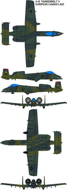 A-10 Thunderbolt II European by bagera3005 on DeviantArt